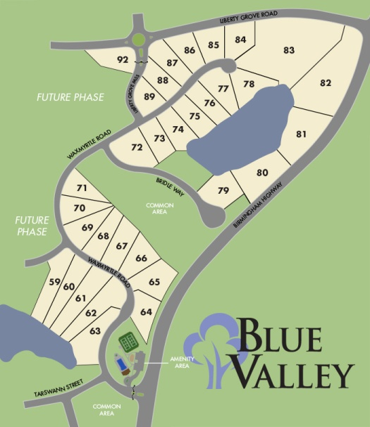 Blue Valley Site Plan
